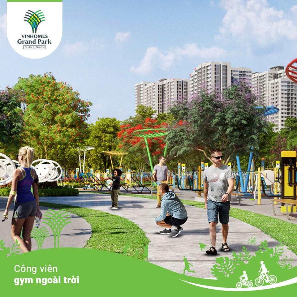 Công viên Gym ngoài trời với quy mô lên tới hơn 800 máy tập, là nơi rèn luyện sức khỏe, nâng cao thể chất lý tưởng cho mỗi thành viên trong gia đình, giúp tái tạo năng lượng cuộc sống...