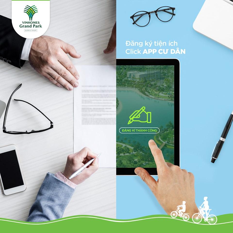 App cư dân cung cấp thông tin đầy đủ về dịch vụ - tiện ích trong Khu đô thị và tương tác kỹ thuật số trực tiếp với Ban quản lý giúp cư dân dễ dàng phản ảnh thông tin và đặt lịch sử dụng tiện ích theo nhu cầu